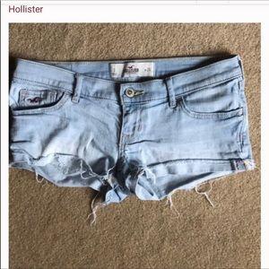 Hollister shirt shorts